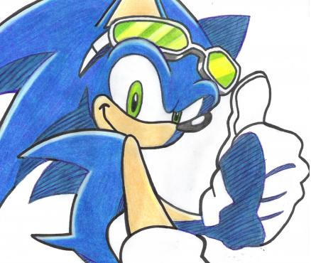 Sonic Boom (New Sonic cartoon) - Page 2 Sonic_lends_a_hand_by_ObsessedShadowFan
