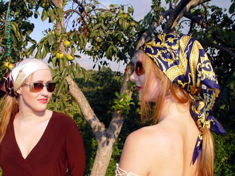 Peasant Tie - Julie Simone and Allanah Rhodes