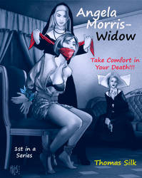 Cover for Angela Morris - Widow by knottysilkscarf
