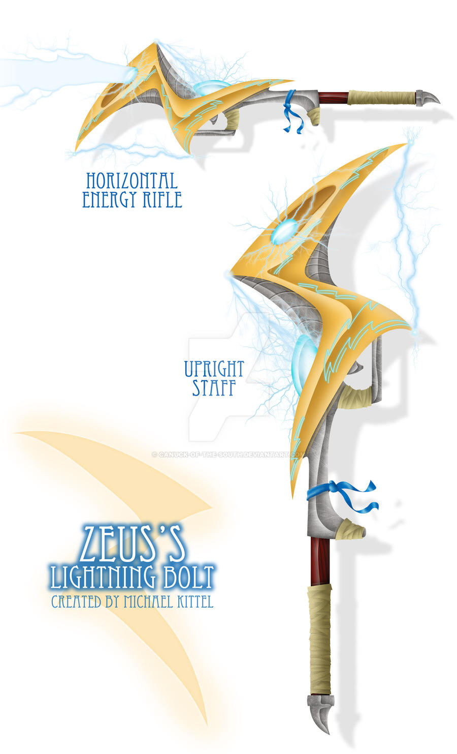 Zeus S Lightning Bolt By Canuck Of The South On Deviantart