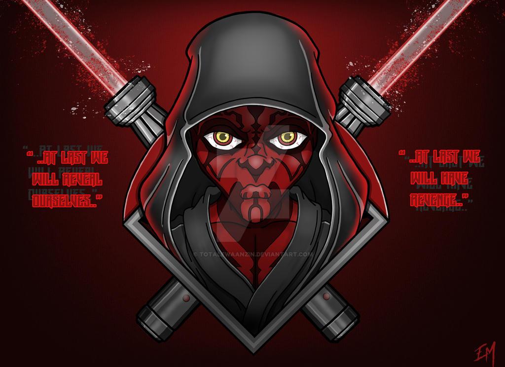 The Phantom Menace by totalewaanzin