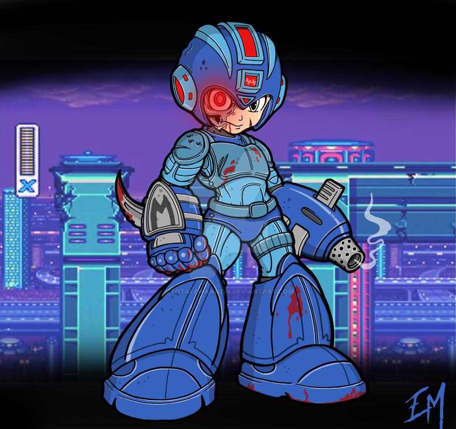 Mega Man by totalewaanzin