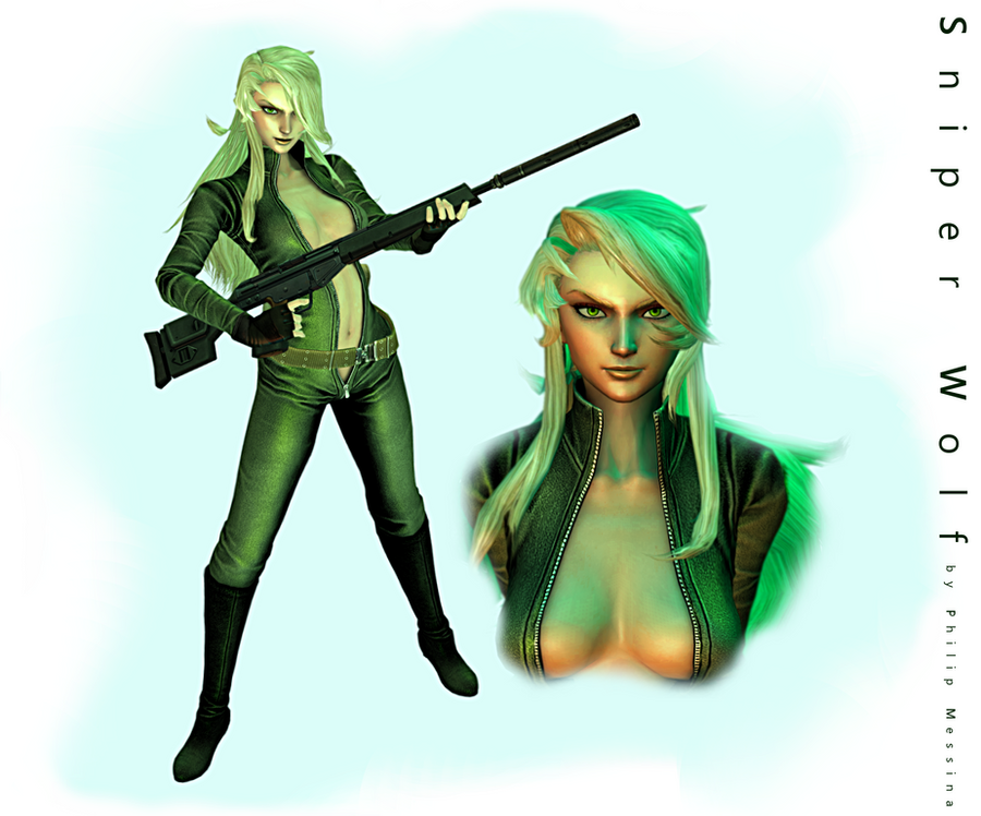 Sniper Wolf by PhilipMessina