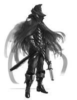 Bloodborne hunter design Darkened Moon Hunter by Scott2142
