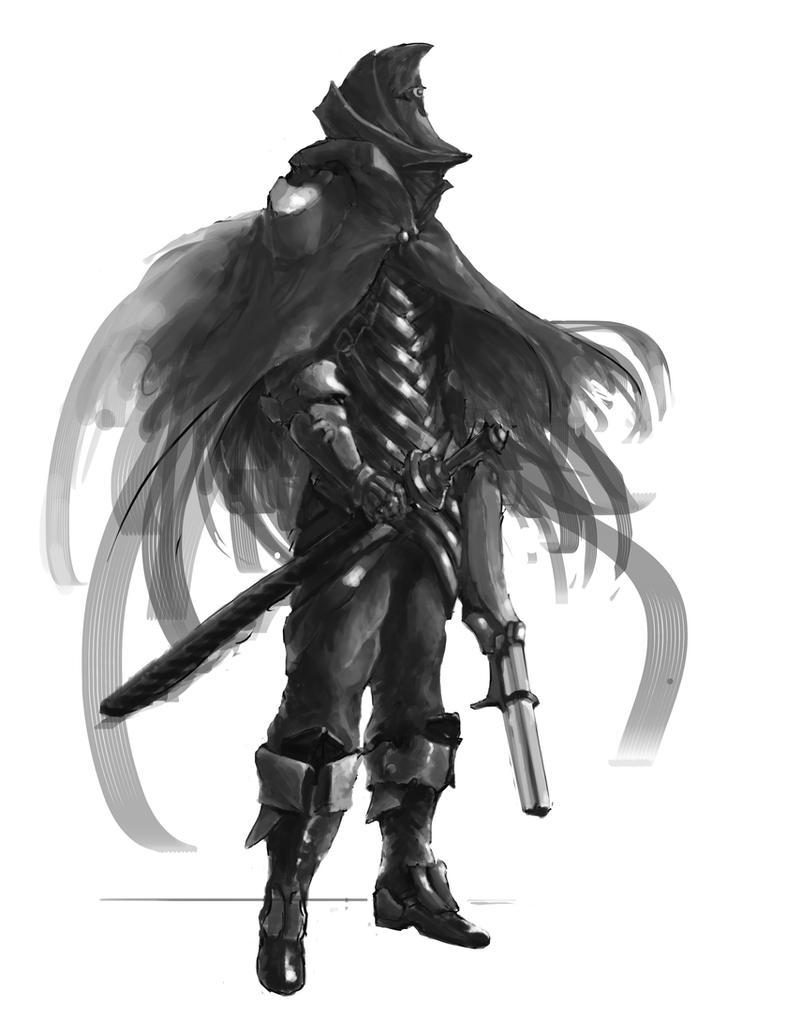 Bloodborne Hunter Design Darkened Moon Hunter By Scott2142 On DeviantArt