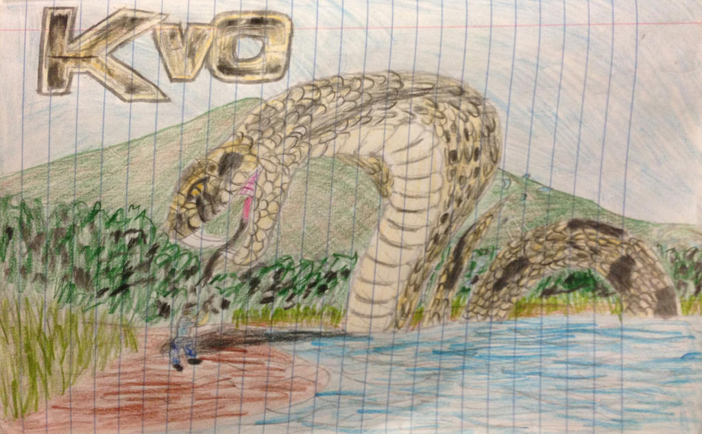 Komodo Vs Cobra: Cobra by facelassbabyboi on DeviantArt