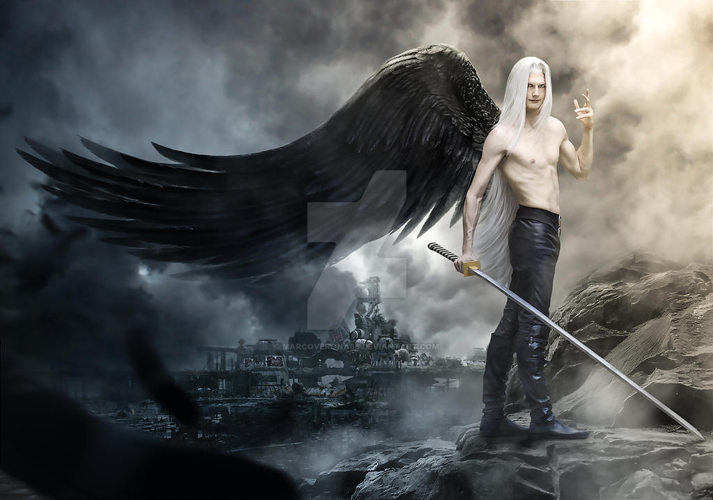 Sephiroth Final Fantasy 7 by MarcoVerona86