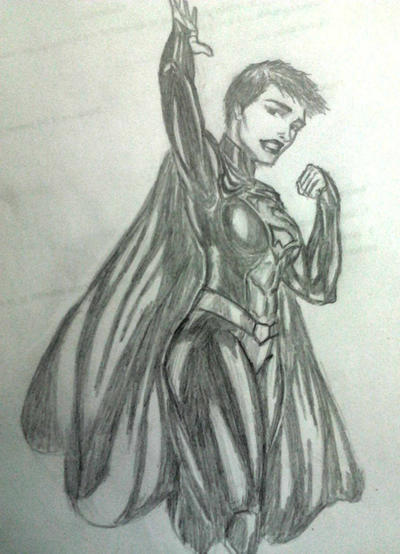 Faora - Work doodle by jay911sf