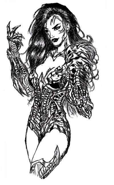 WitchBlade by jay911sf