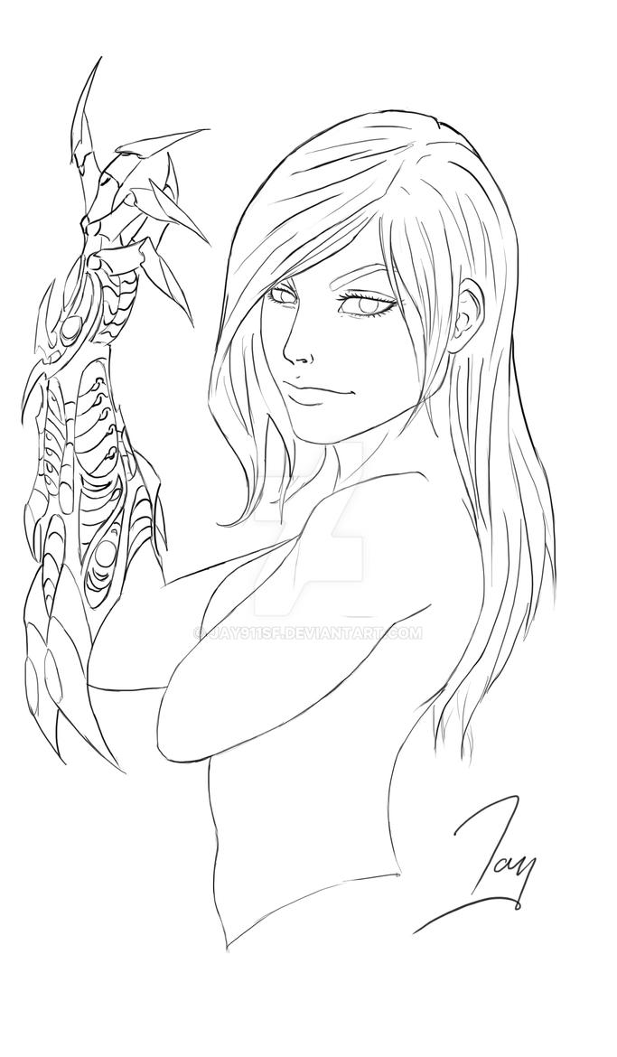 WitchBlade-WIP by jay911sf