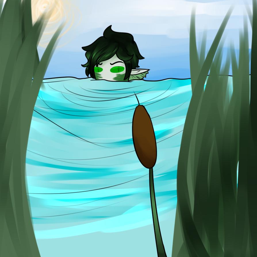 Algae Dragons by MythsandMonsters