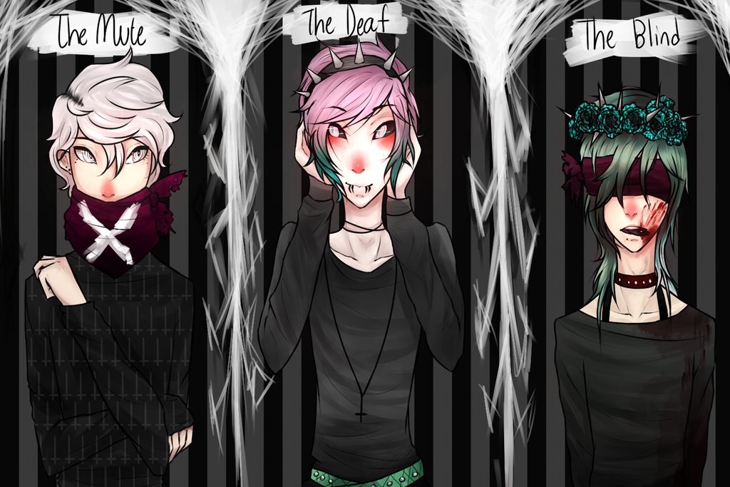 The Mute, The Deaf, The Blind by MythsandMonsters on ...