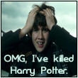 Neville killed Harry Potter by Heraldic-Angel