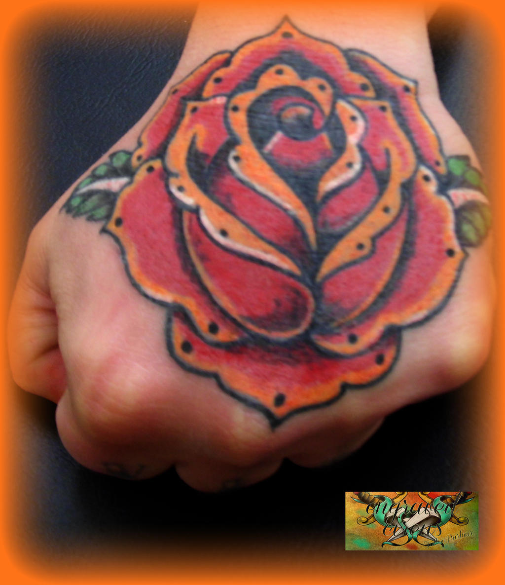 Rose Upper Hand by loop1974 on DeviantArt