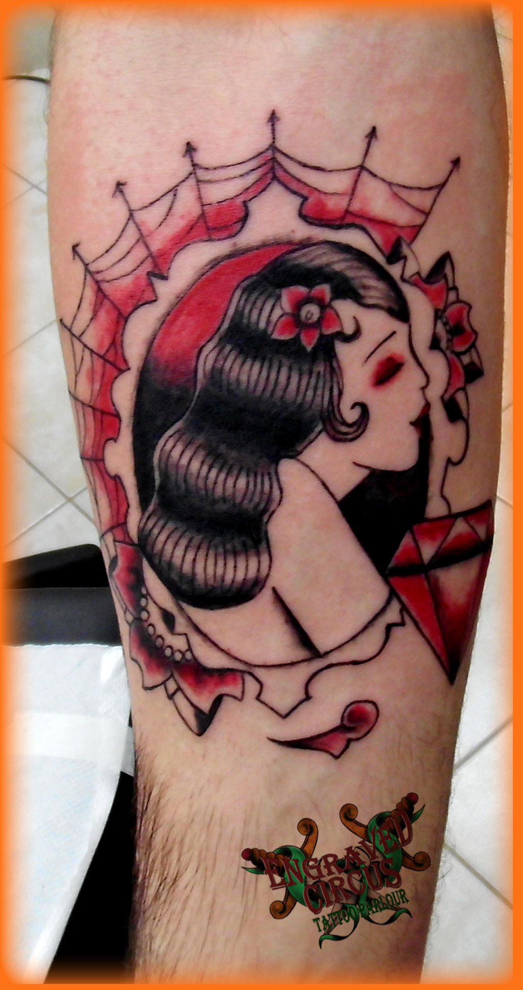Till death do us part 1 by loop1974 on deviantart for Until death do us part tattoo