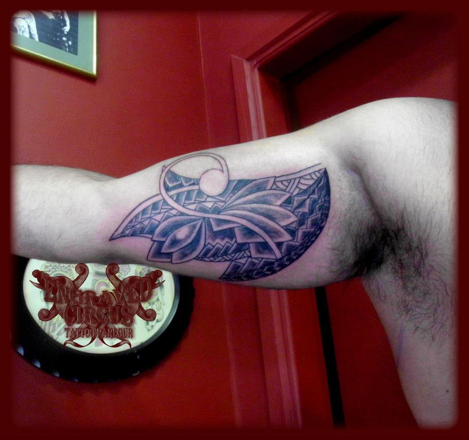 Maori Tattoo With A Twist! By Loop1974 On DeviantArt