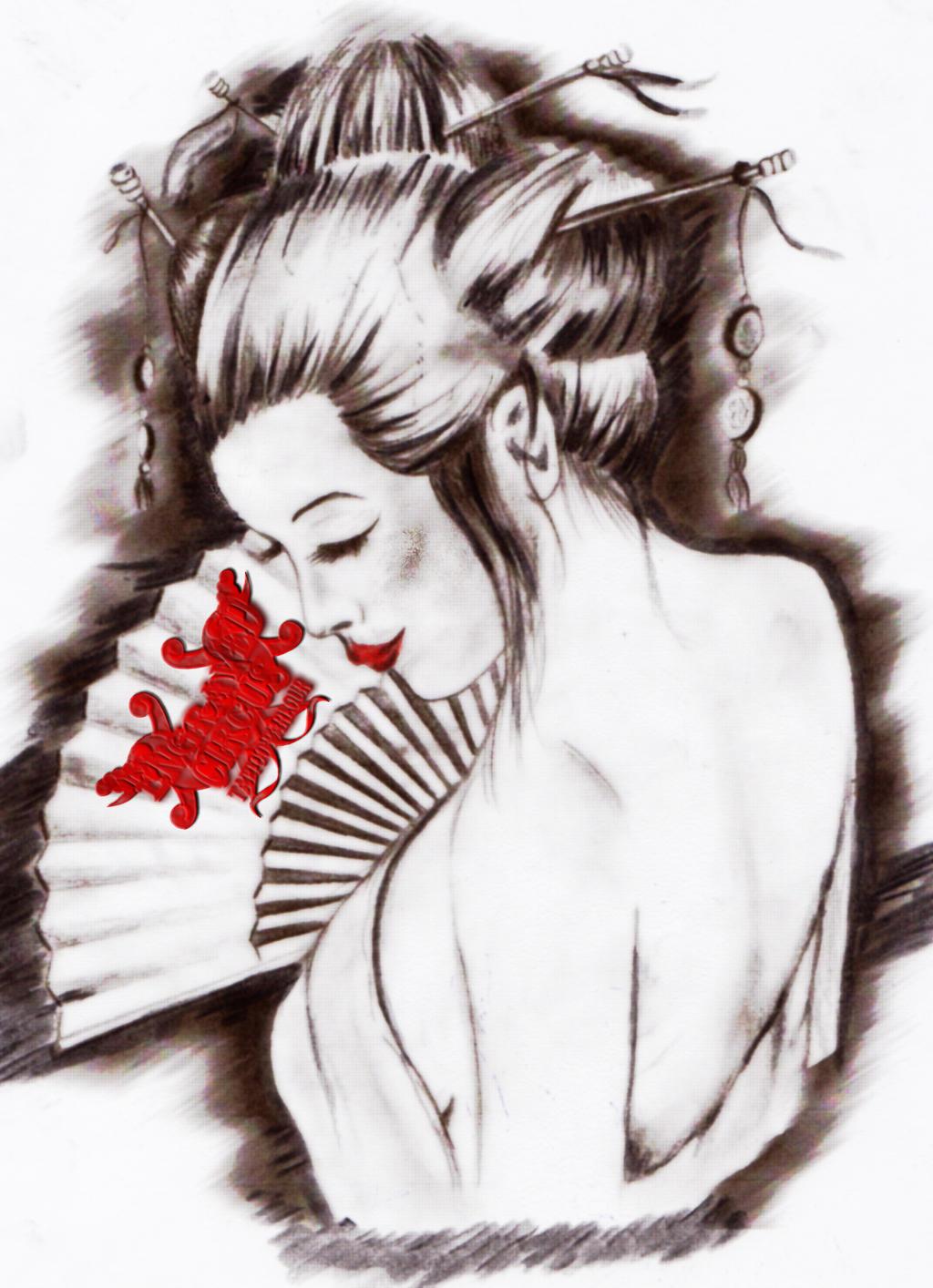 Geisha PtII By Loop1974 On DeviantArt