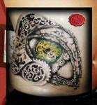 Bio Reptile Eye Tattoo