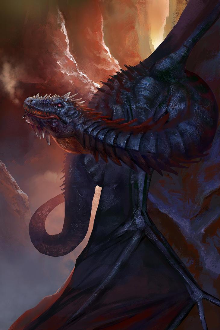Dragon by elenavalen