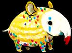 Adoptable : Tapir Party Clown