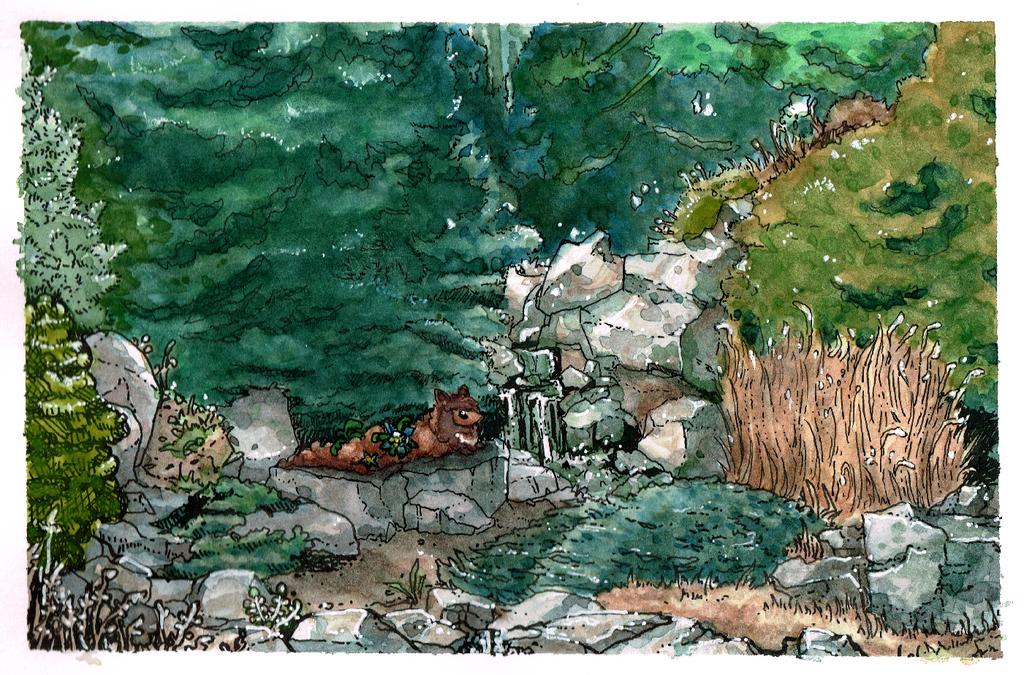 Interlude At The Denver Botanic Gardens By Lizbot On Deviantart