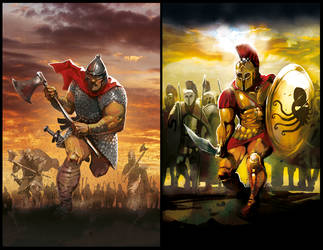Battle Book Covers by OllieCuthbertson