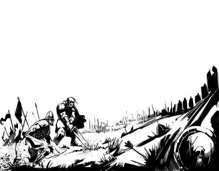 Battle Inside Illustration