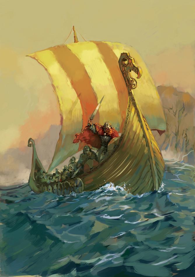 Norsemen by OllieCuthbertson