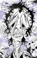 Steven Tyler  before make-up by ADAM1300