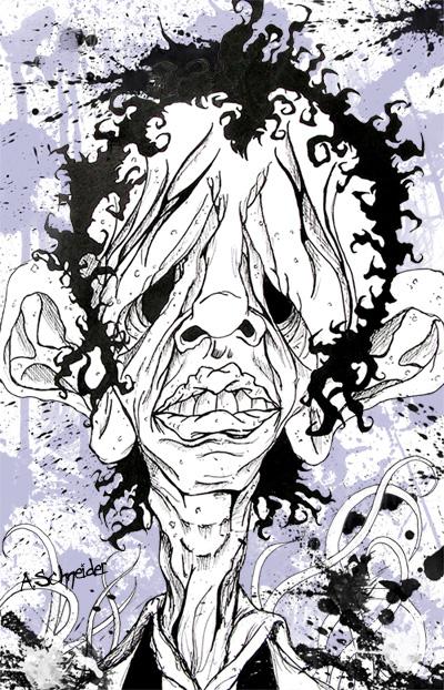Steven Tyler  before make-up