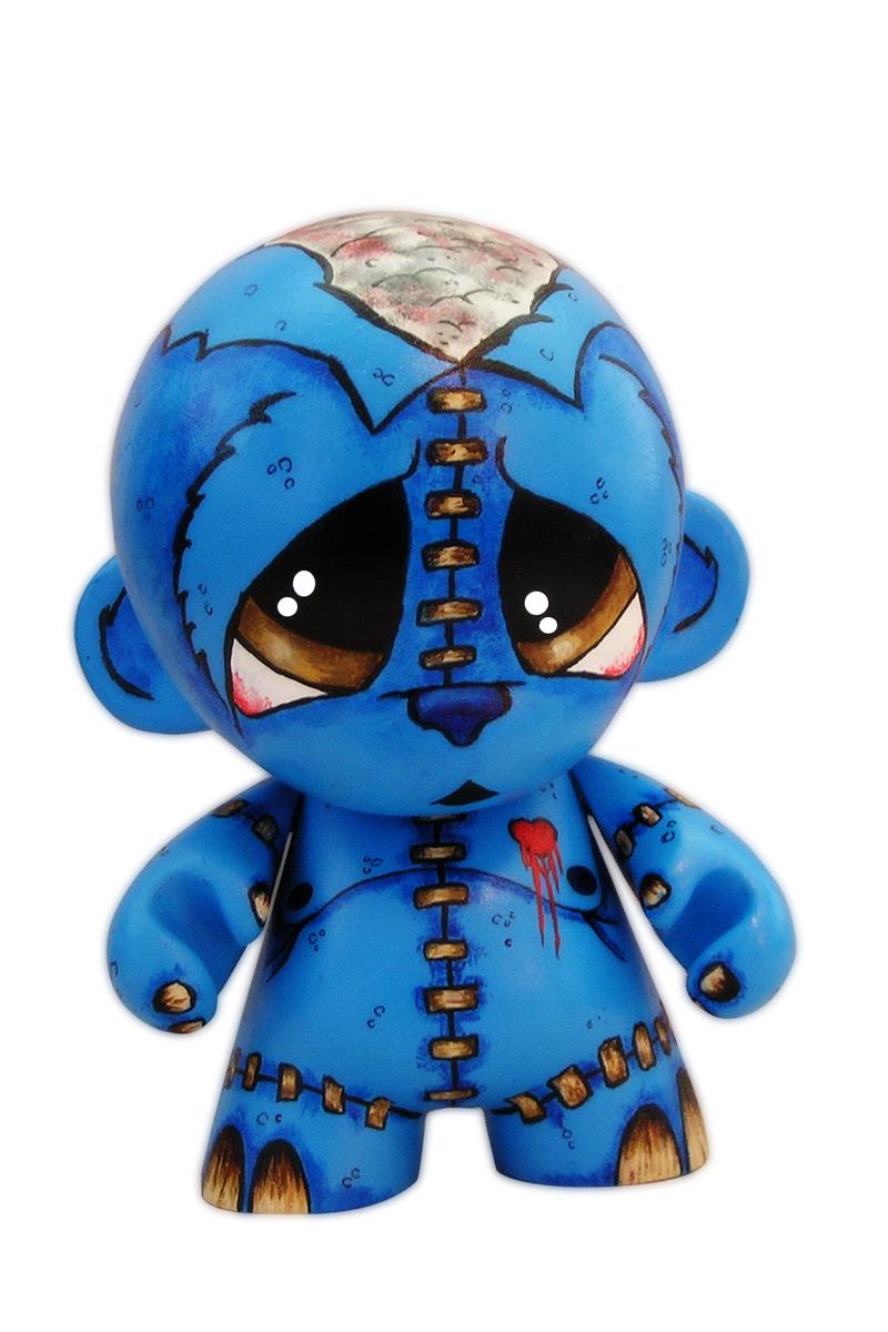 Custom Munny:Teddy Love by ADAM1300