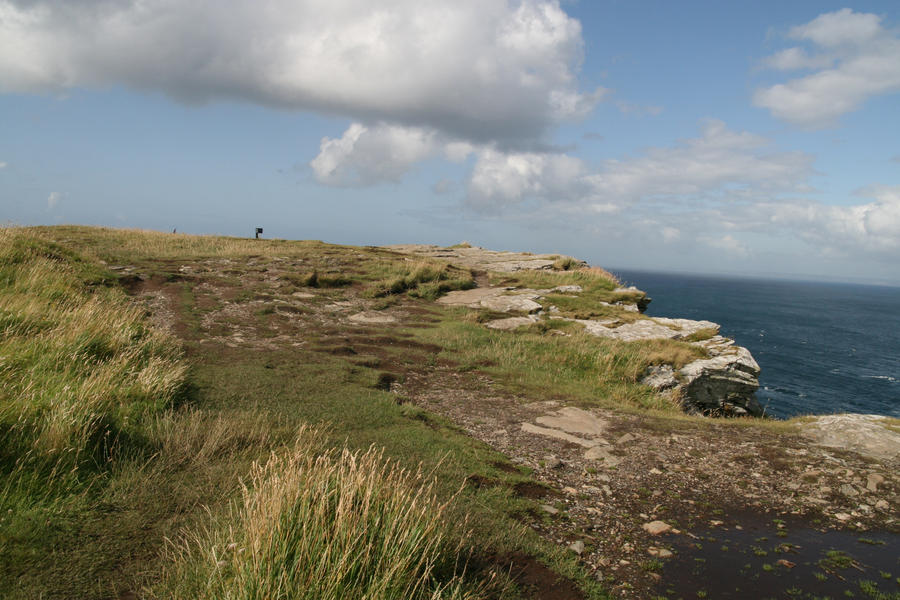 Tintagel Cliff 08 by neverFading-stock