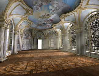 Ballroom 001 PNG by neverFading-stock