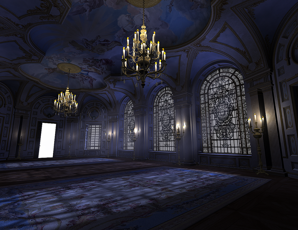 ... Ballroom 002 PNG by neverFading-stock