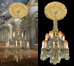 chandelier 002 PNG
