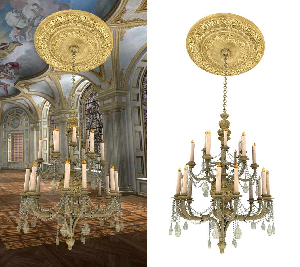 Chandelier graphic png