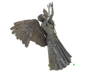 Angel Statue PNG 01