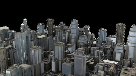 City Blocks PNG by neverFading-stock