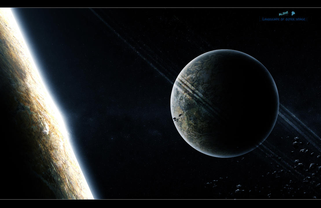Landscape of outer space by alwahdany on deviantart for Outer space design landscape architects