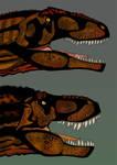 Version final de T-REX vs Giganotosaurus