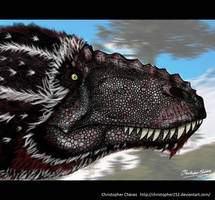 yutyrannus full colors by Christopher252