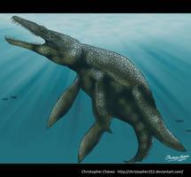 Gallardosaurus painted. by Christopher252