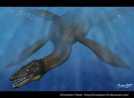 Vinialesaurus painting by Christopher252