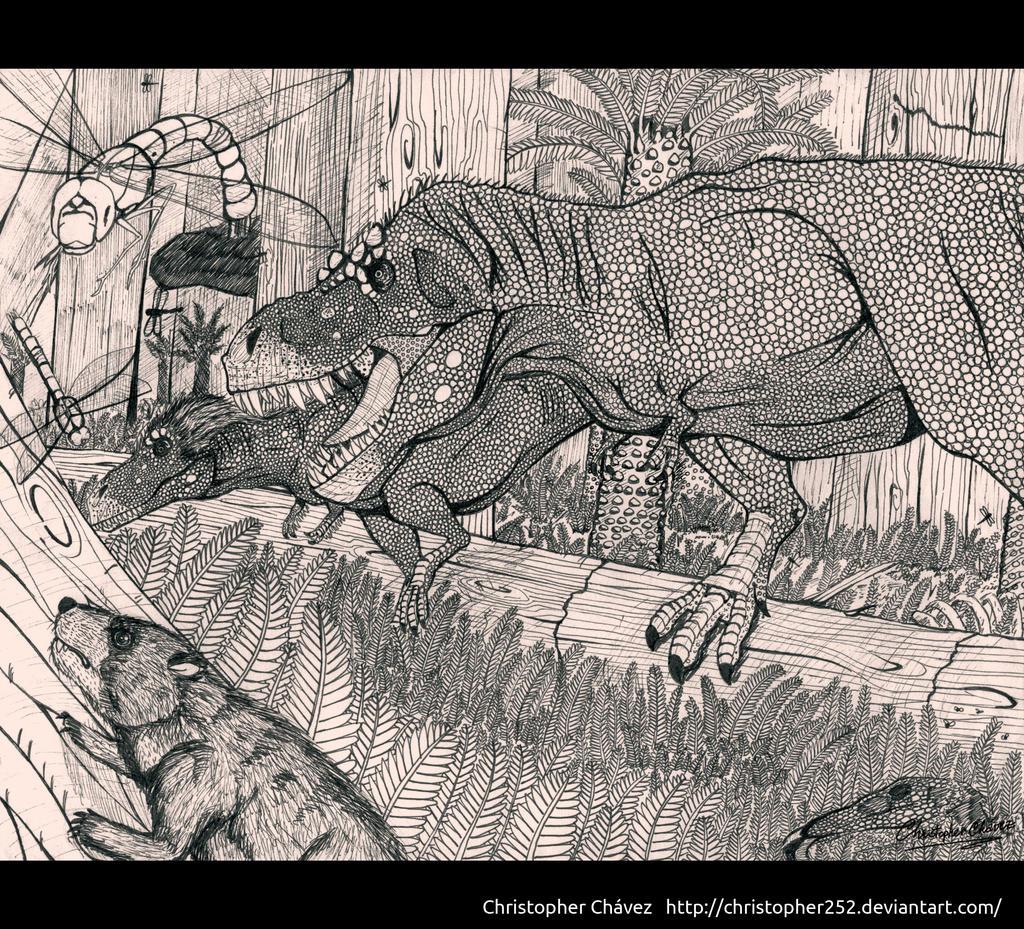 T rex family by christopher252 on deviantart for T rex family