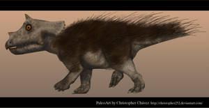 Pollito Triceratops