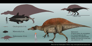 Spinosaurus by Christopher252