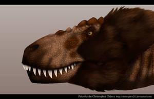Tarbosaurus by Christopher252