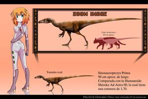 Sinosauropteryx Prima. by Christopher252