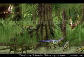 Triasico Gondwana. by Christopher252