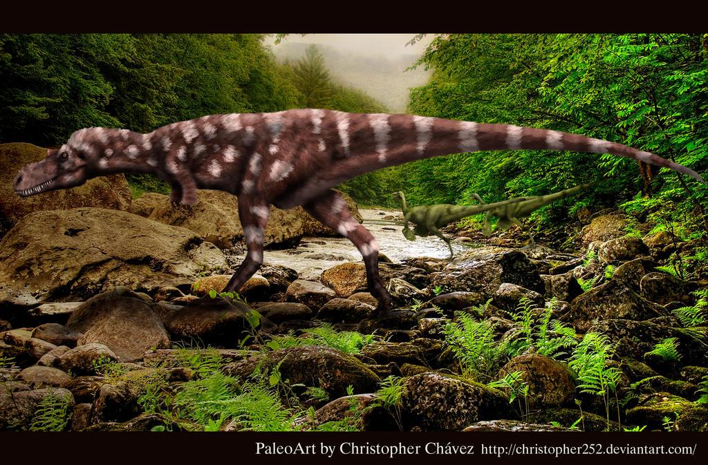 Appalachiosaurus joven by Christopher252